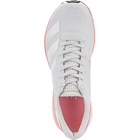 adidas Adizero Boston 8 Shoes Women dash grey/footwear white/glory pink
